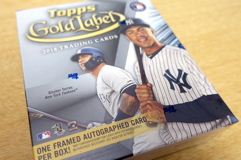 MLB 2018 TOPPS GOLD LABEL BASEBALL