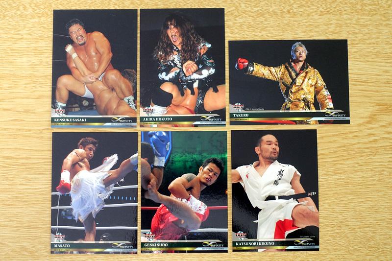 格闘技のレギュラーカード