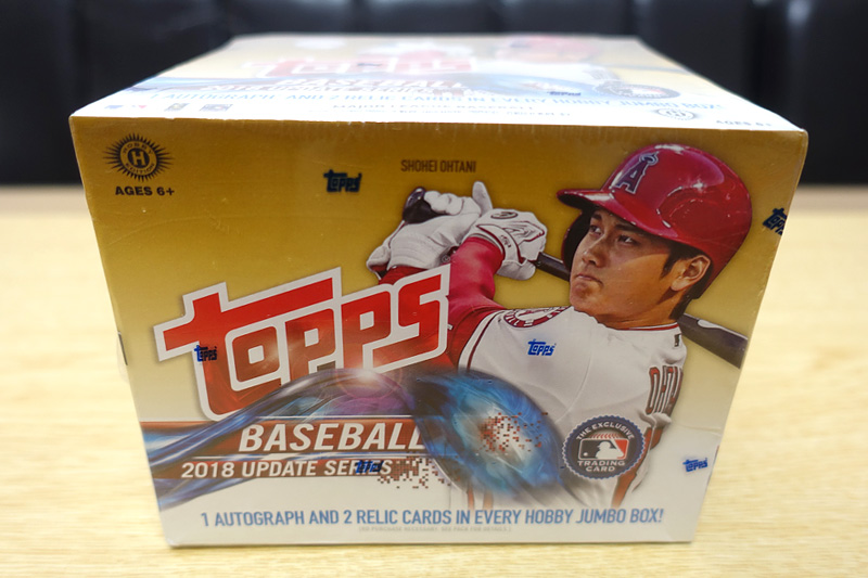 MLB 2018 TOPPS UPDATE SERIES JUMBO