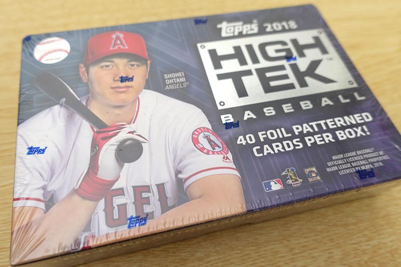 MLB 2018 TOPPS HIGH TEK