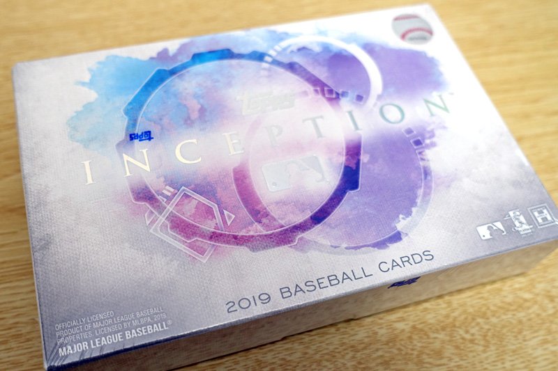 MLB 2019 TOPPS INCEPTION BASEBALL