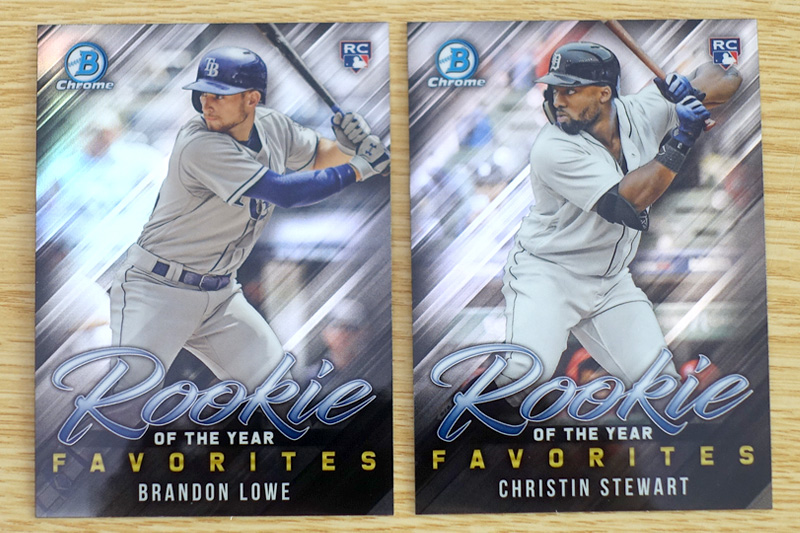 Chrome Rookie of the Year Favorites