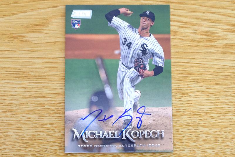Michael Kopechの直筆サインカード