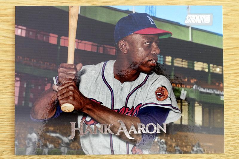Hank Aaronの大判カード