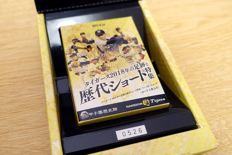EPOCH 阪神タイガース × 甲子園歴史館 タイガース2018年の足跡と 歴代ショート特集