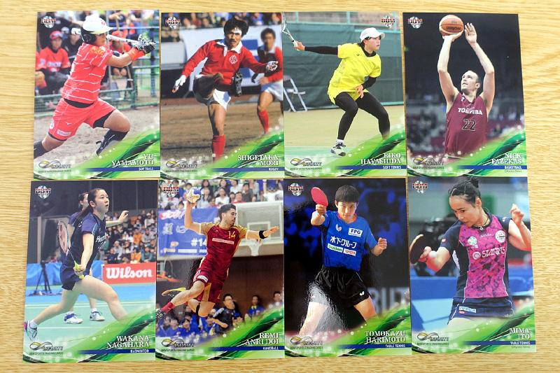 球技スポーツのレギュラーカード